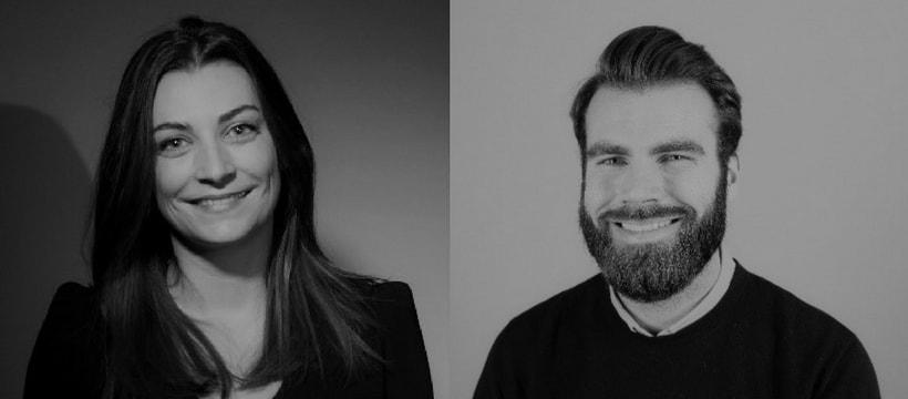 Portraits de Juliet Giron et Mathieu Kremer