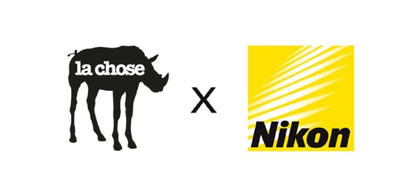 logos de la chose et Nikon