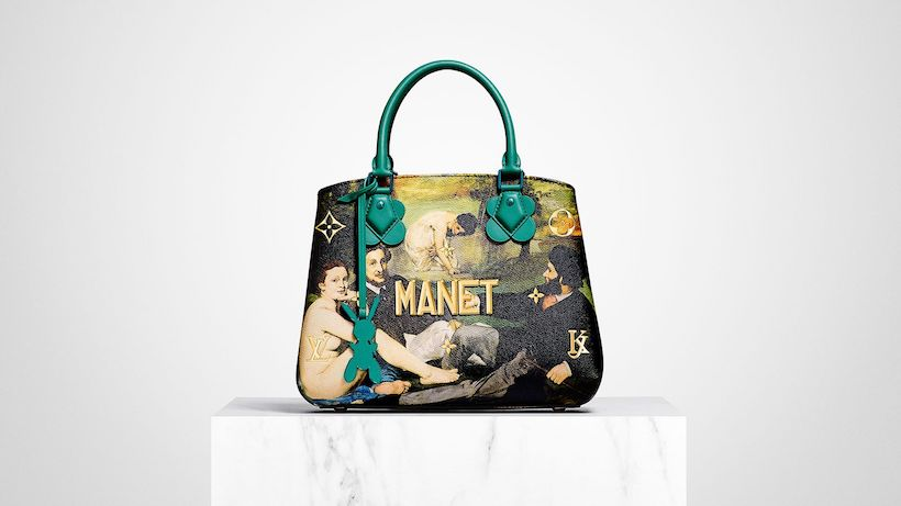 Louis Vuitton Jeff Koons sac