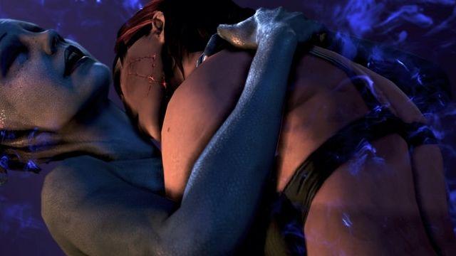 femme dans les bras dune extraterreste