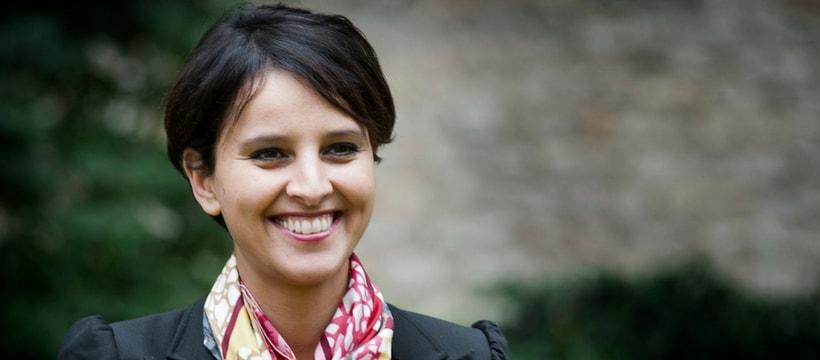 Portrait de Najat Vallaud Belkacem