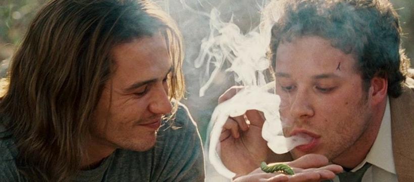 seth rogen et james franco font fumer une chenille