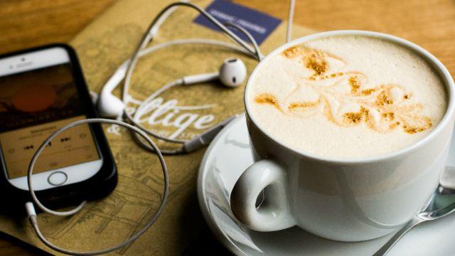 Téléphone café chocolat