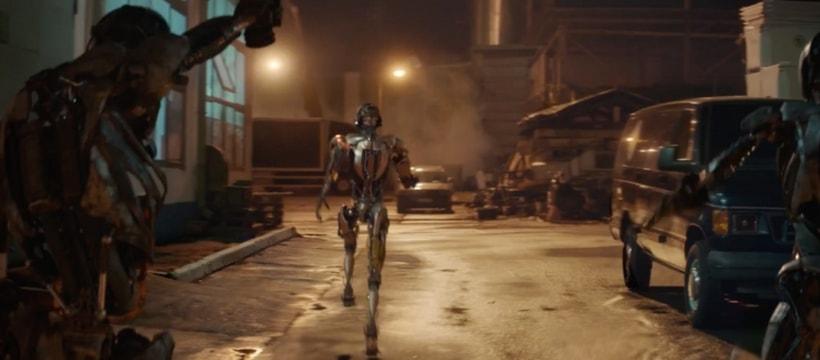 robots qui courent