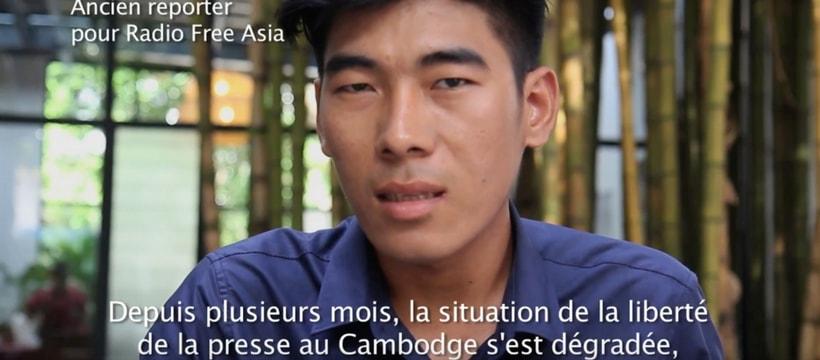 reporter cambodgien qui temoigne