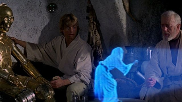 star wars hologramme