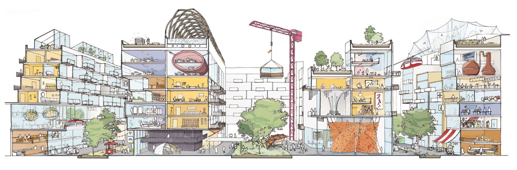 illustration de quayside