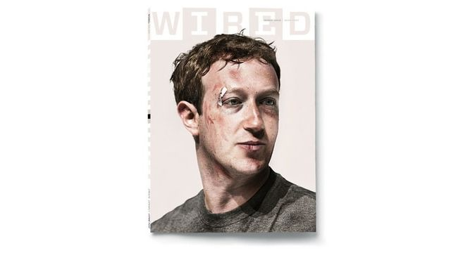 Mark zuckerberg fait la couverture du magazine Wired