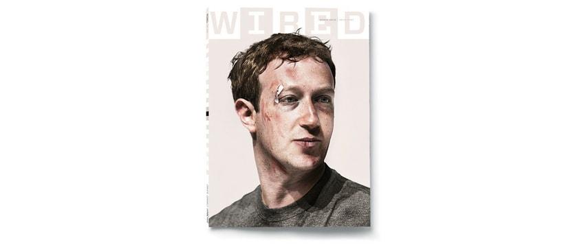 Mark zuckerberg fait la couverture du magazine Wired