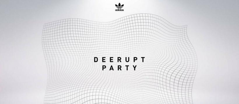 adidas deerupt party