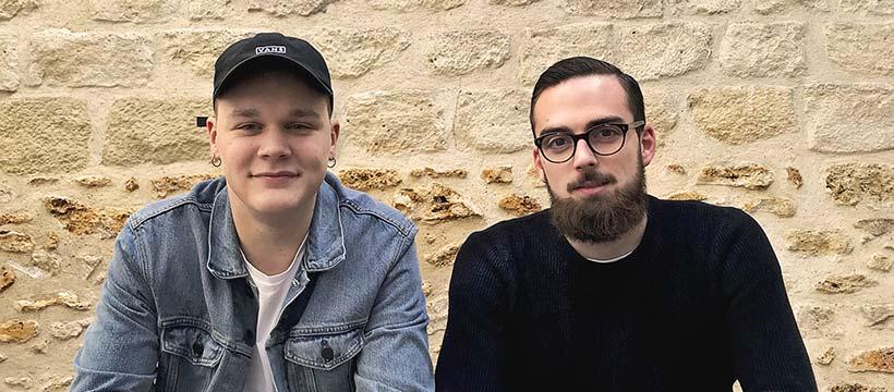 les alex nouveau team créatif de l'agence Les gros mots