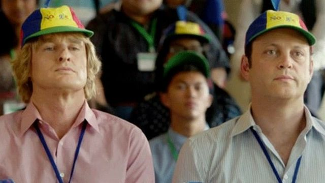 Owen Wilson et Vince Vaugn dans le film The Internship
