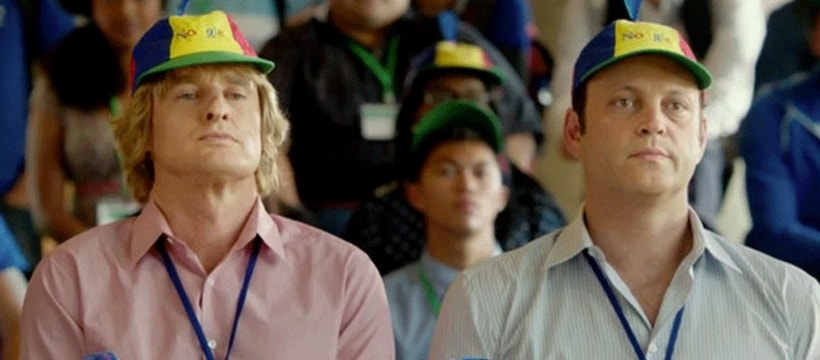 Owen Wilson et Vince Vaugn dans le film The Internship