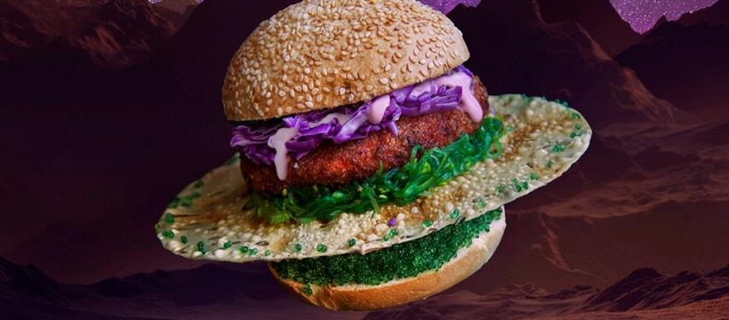 Un burger de l'espace