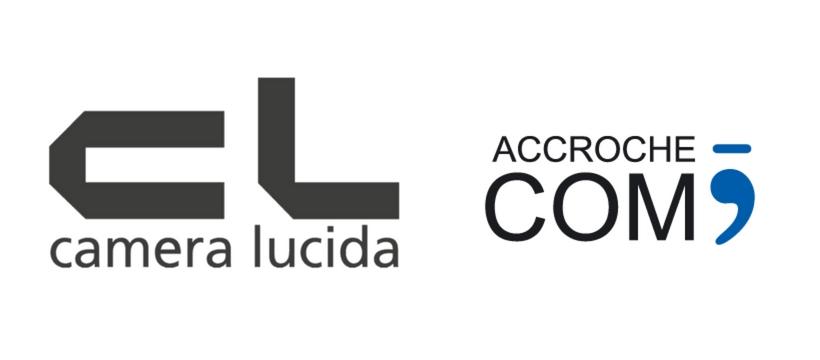 logo Camera Lucida et Accroche-com'