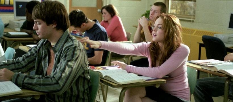Extrait du film Lolita Malgré Moi, où Lindsay Lohan est en cours de maths