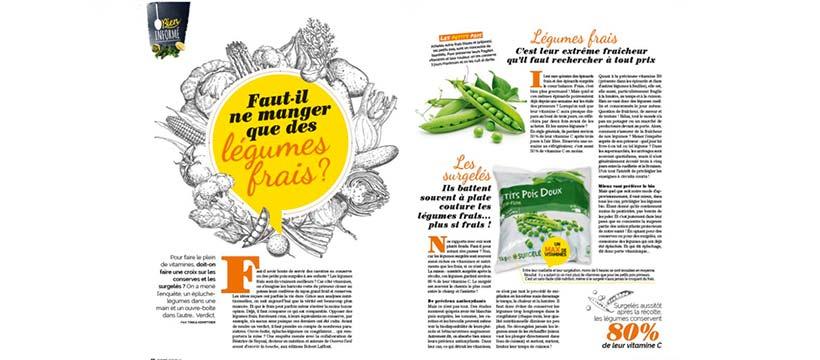 pages du magazine cuisine actuelle