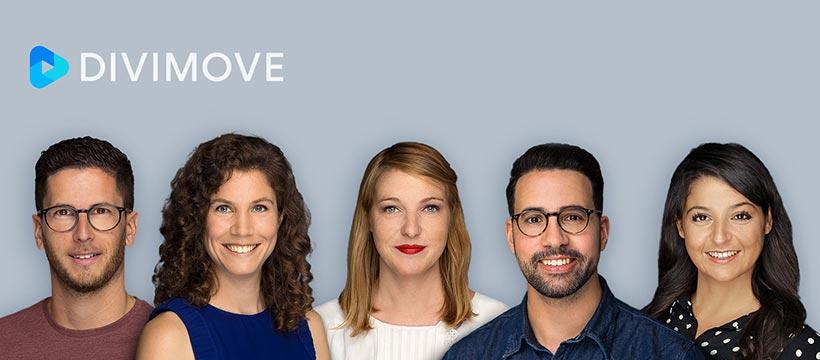 5 nouveaux profils chez Divimove