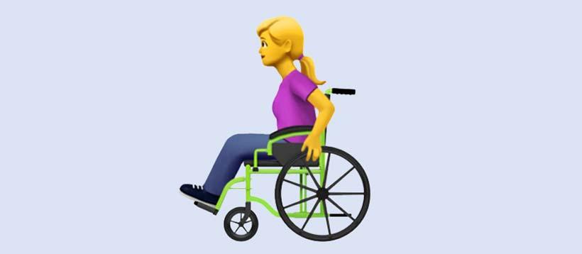 Emojis handicap : Apple crée des emojis pour les personnes handicapées