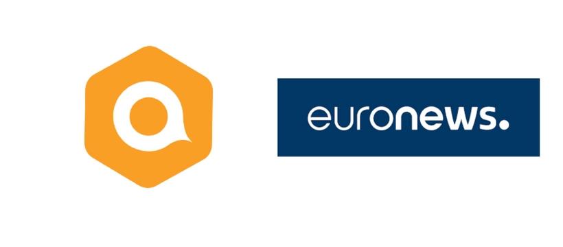 logos euronews et qualifio