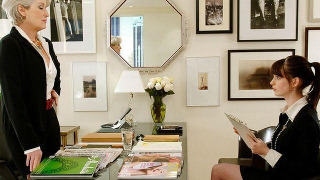 Extrait du film le diable s'habille en Prada, avec Meryl Streep et Ann Hathway