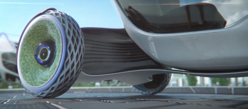 Le nouveau pneu concept de Goodyear, baptisé Oxygene