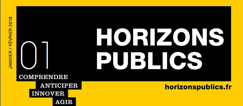 couverture magazine horizons publics