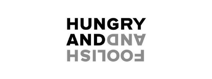 logo hungry and foolish