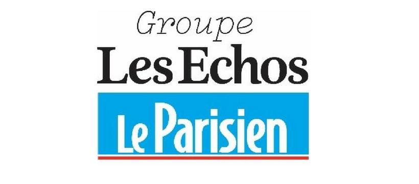 logo les échos le parisien