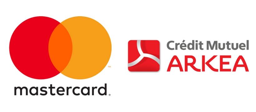 logo mastercard et arkéa
