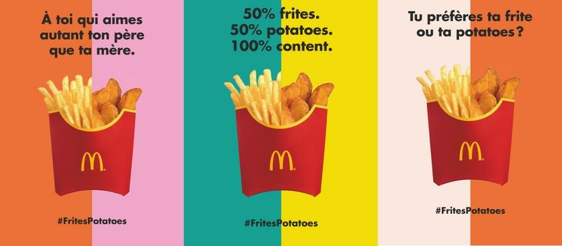 frites-potatoes de McDonald's