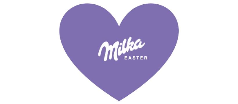 logo Milka pâques