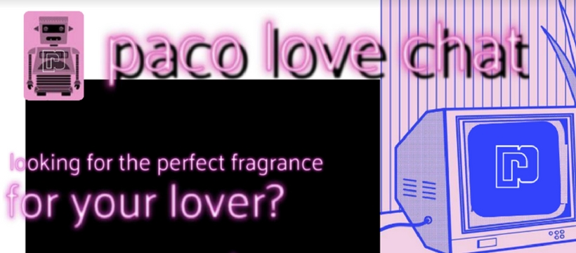 paco rabanne love chat