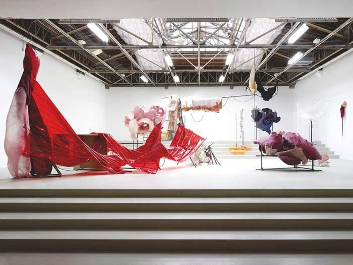 oeuvre de daiga grantina au palais de tokyo