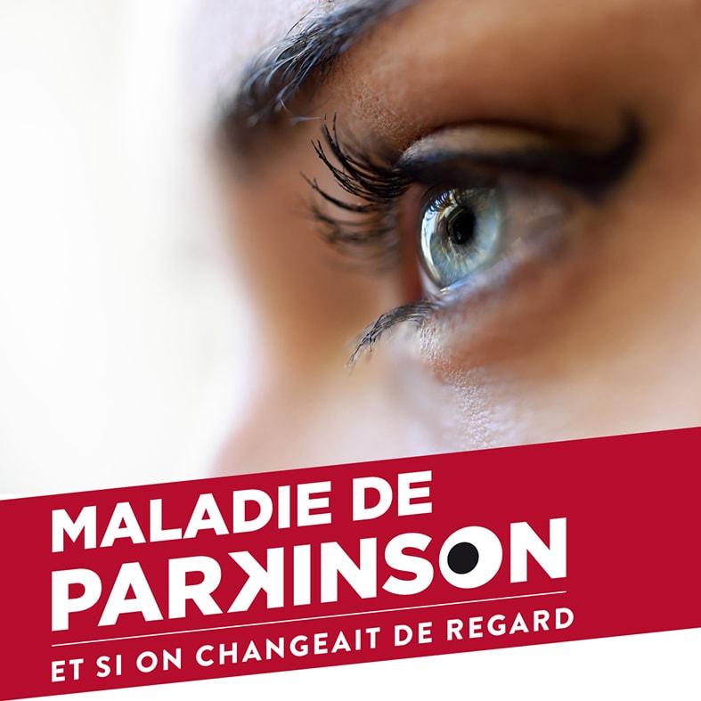 bannière de la campagne de sensibilisation à la maladie Parkinson