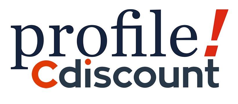 logo profil et cdiscount