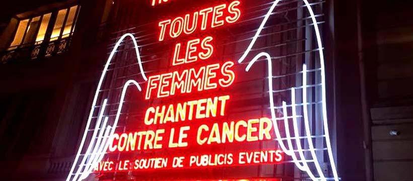 publicis event soutient toutes les femmes chantent contre le cancer