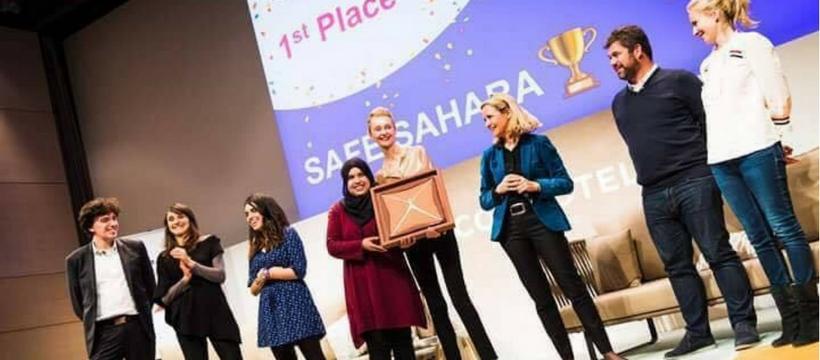 remise du prix Global Startup Weekend Women 2018