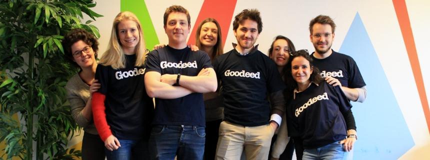 l'équipe de la startup goodeed