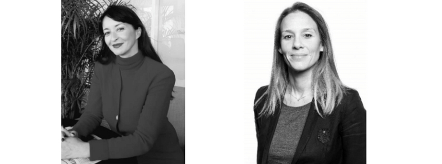 Samia Debeine et Alexandra Richert