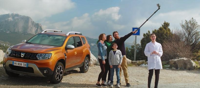 Dustick, la perche à selfie de Dacia