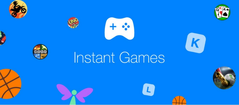 visuel instant games facebook