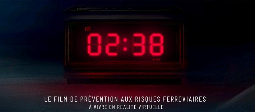 campagne de prévention en VR tbwa paris et la sncf