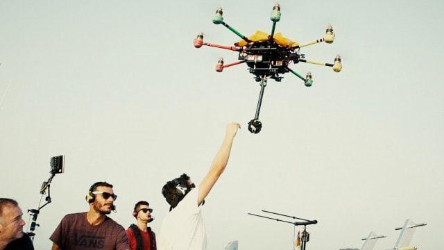 tournage drone