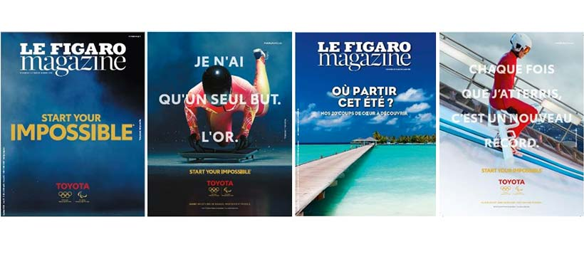 campagne print toyota jeux paralympiques