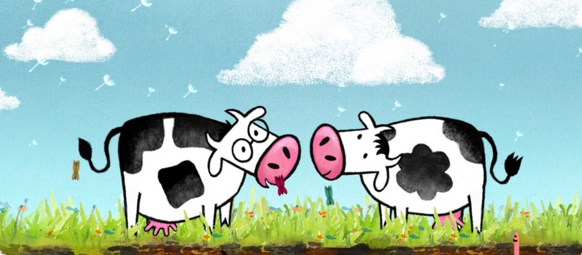 les 2 vaches