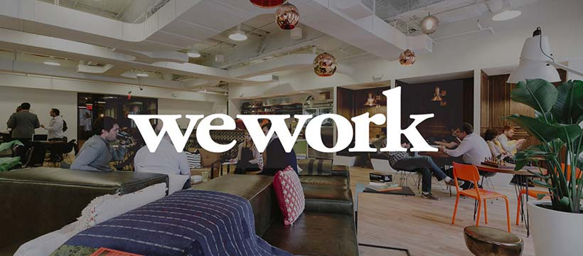 WeWork espace de coworking