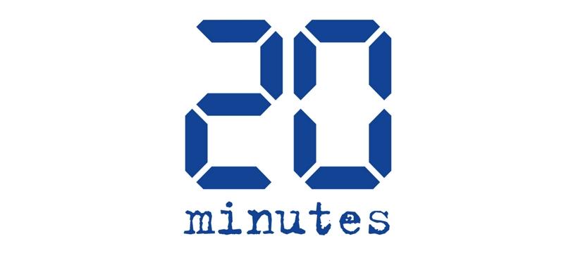 logo 20 minutes