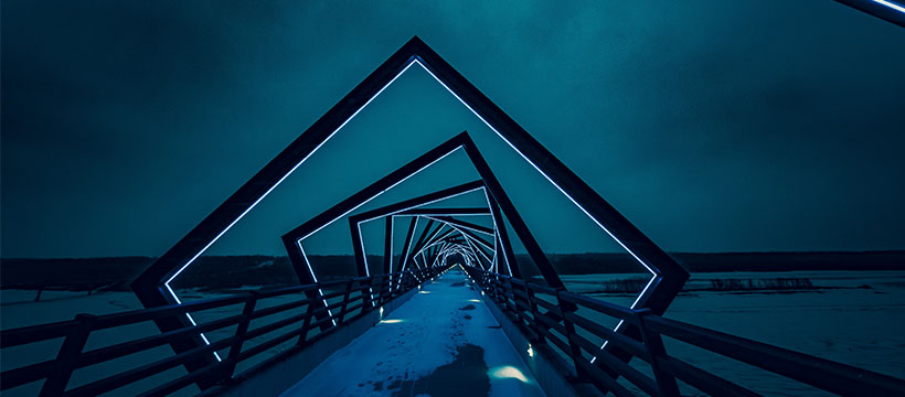 jeu de perspective pont