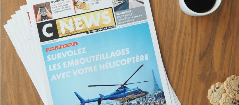 française des jeux et CNews